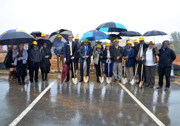 Farrior & Sons at the ground breaking for the new Sallie B. Howard High School